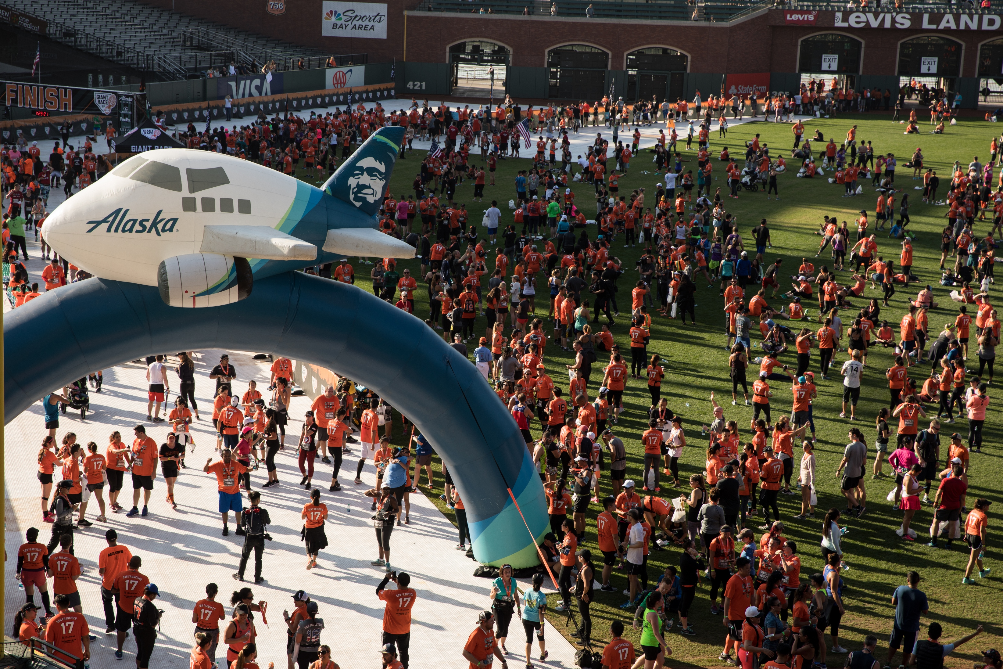 ILEA Alaska Airlines Giants Race